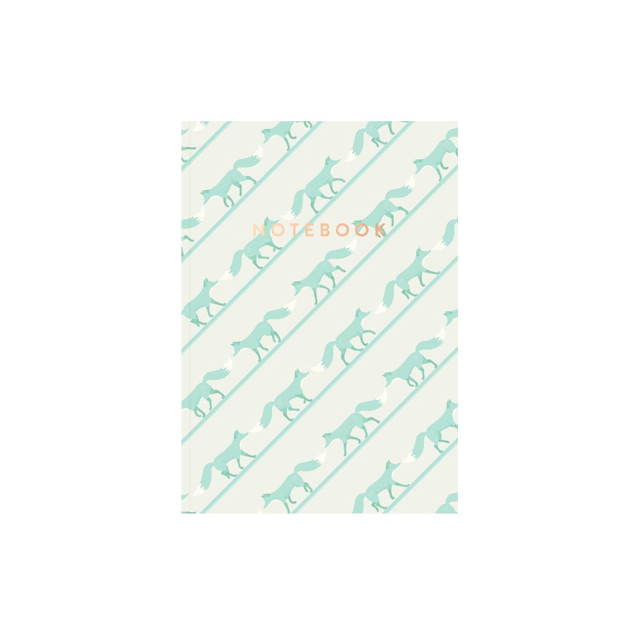 Image of Quinnstripe Notebook (Saltwater Green)