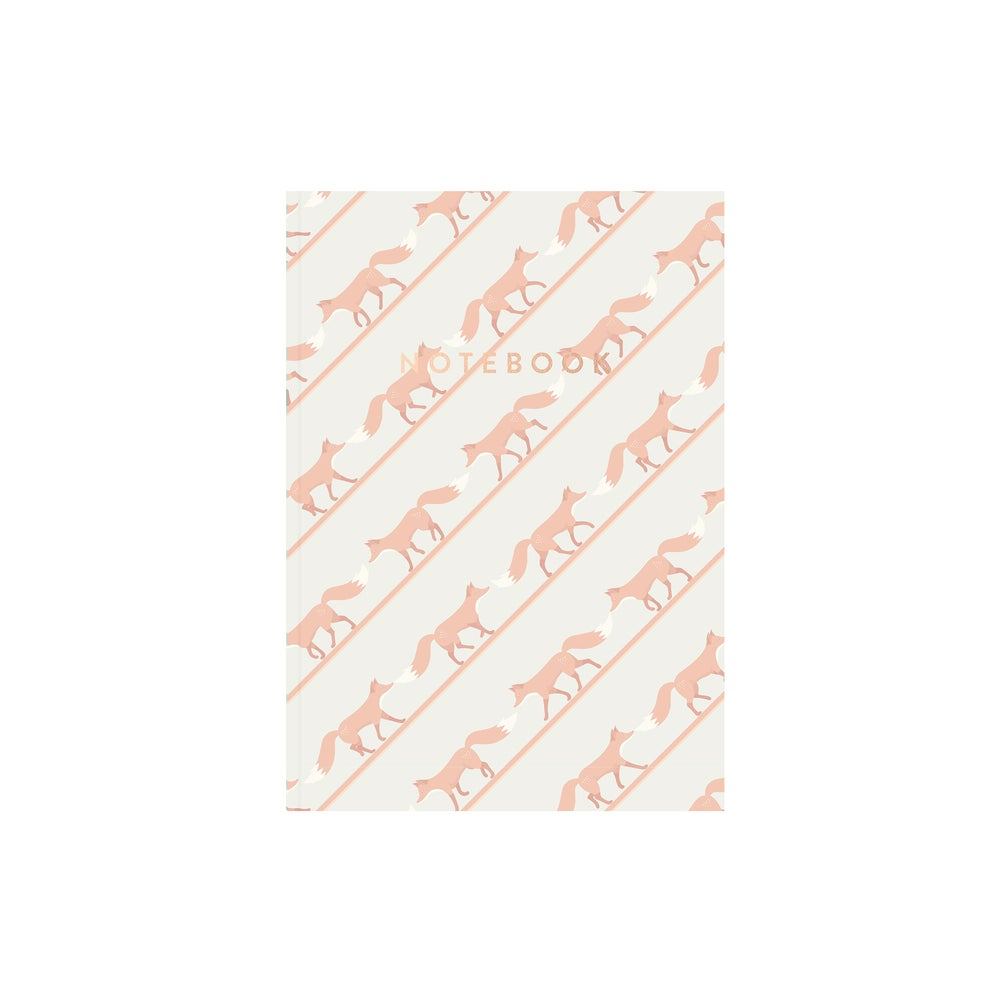 Image of Quinnstripe Notebook (Dawn Pink)