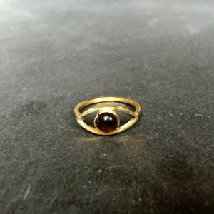 Image of Eye am ring Smokey quartz