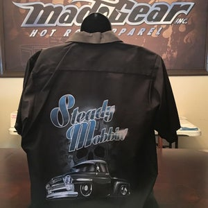 "Image of Work Shirt - ""Steady Mobbin'"""