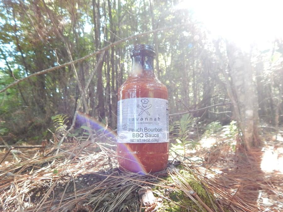 Image of Georgia Peach Bourbon BBQ Sauce