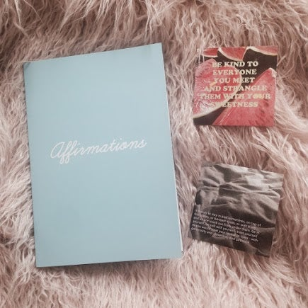 Image of affirmations zine