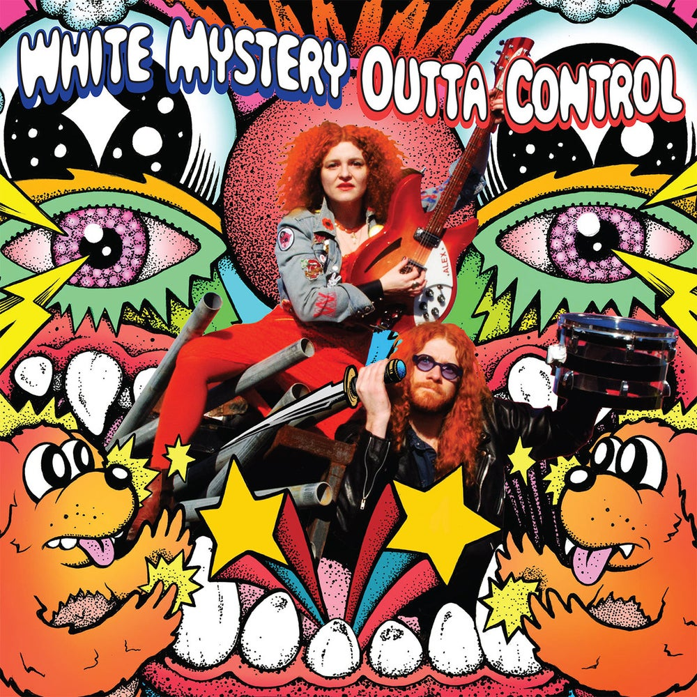 "Image of WHITE MYSTERY ""OUTTA CONTROL"" LP!!!"