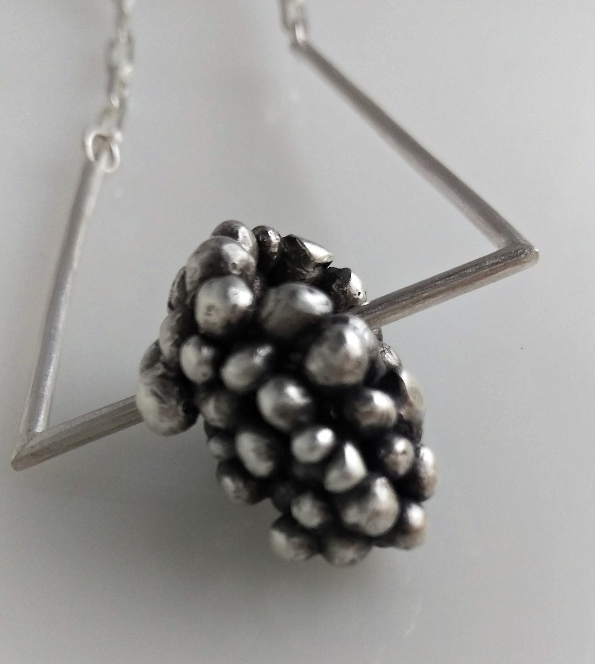 Image of Silver Bubble Necklace