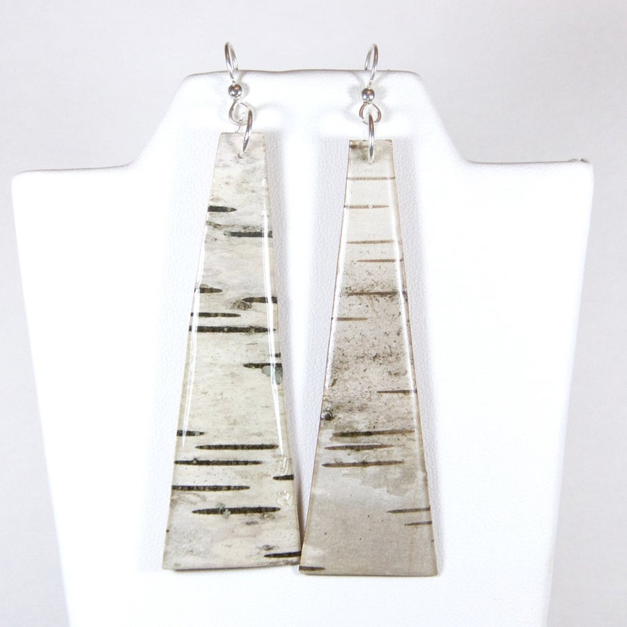 Image of Exquisite Birch Pendant Earrings