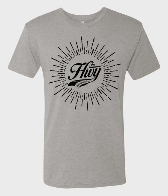 Image of Sunburst Shirt: Silver