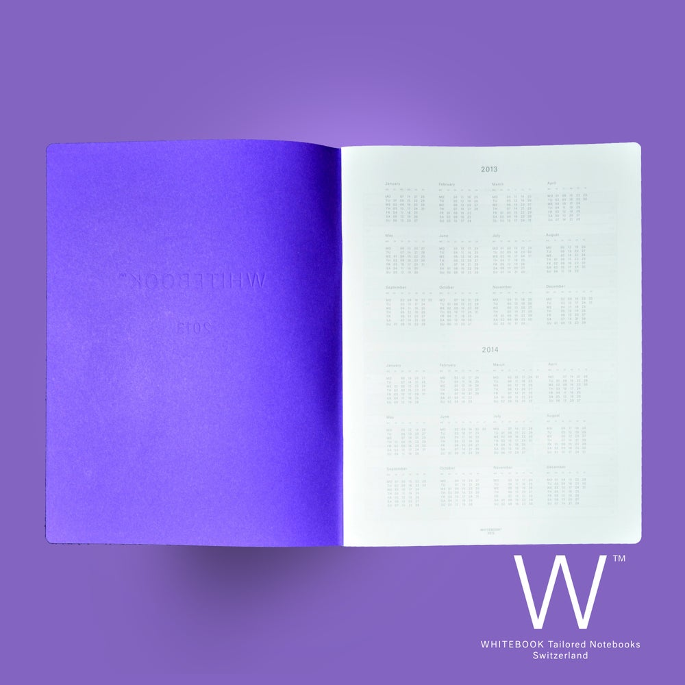 Image of WHITEBOOK PLANNER «2019», C017, Monthly and weekly planner