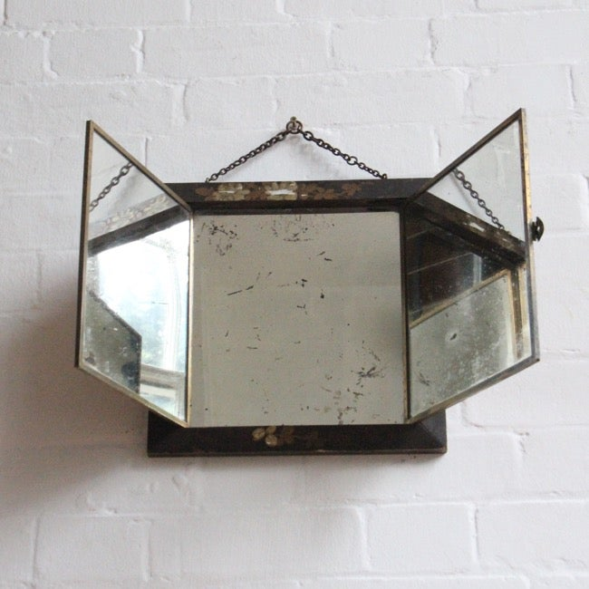 Image of Oriental mirror c 1940