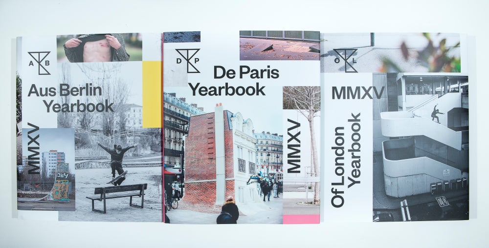 Image of 2015 Yearbooks pack