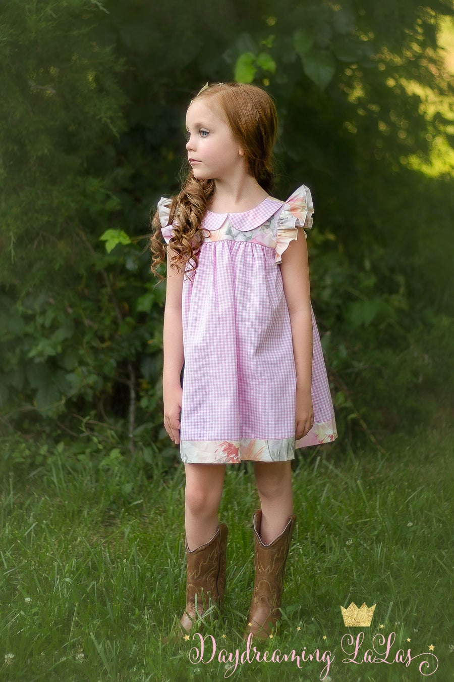 Image of Pretty in Pink- Gingham