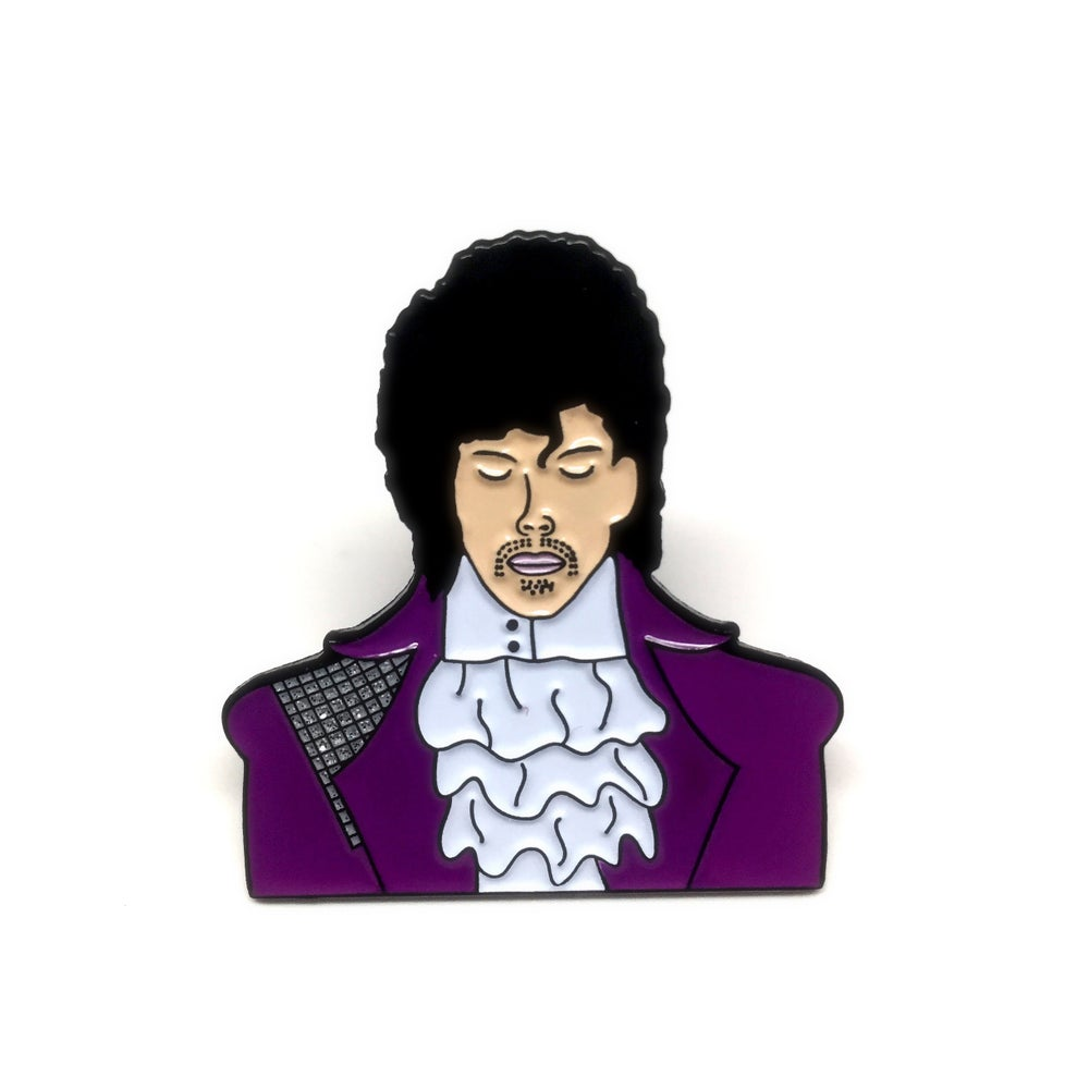 Image of Prince enamel pin