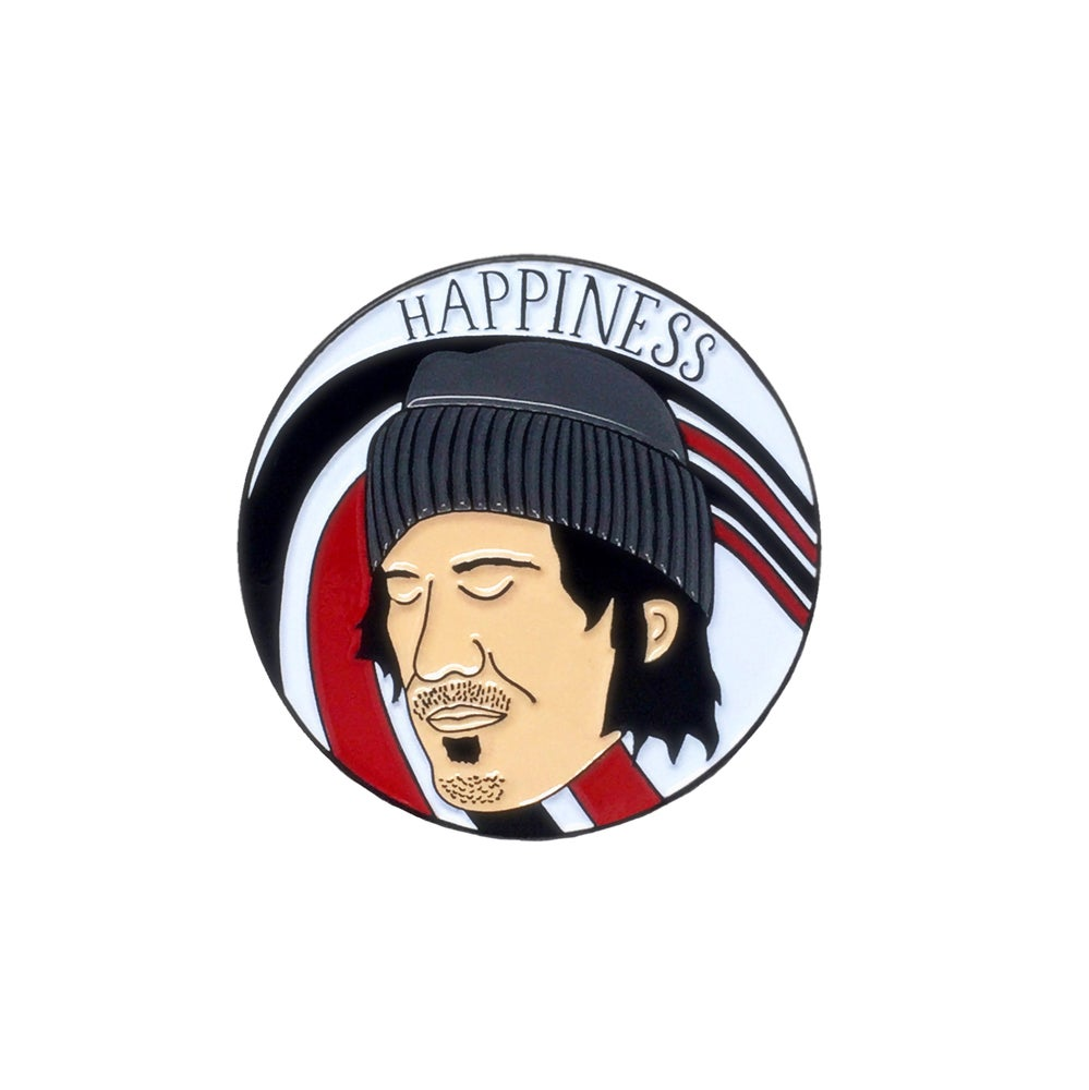 Image of Elliott Smith enamel pin