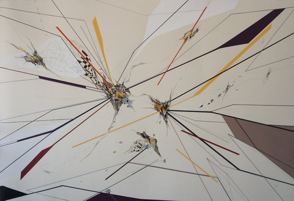 Image of Anibal Catalan | MORPHO DEBRIS SERIES, DRAWING V