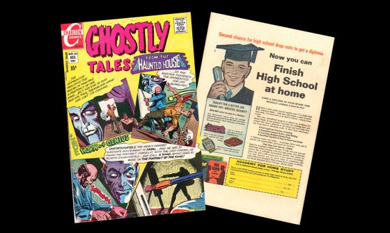 Image of GHOSTLY TALES FROM THE HAUNTED HOUSE #83 Dec 1970