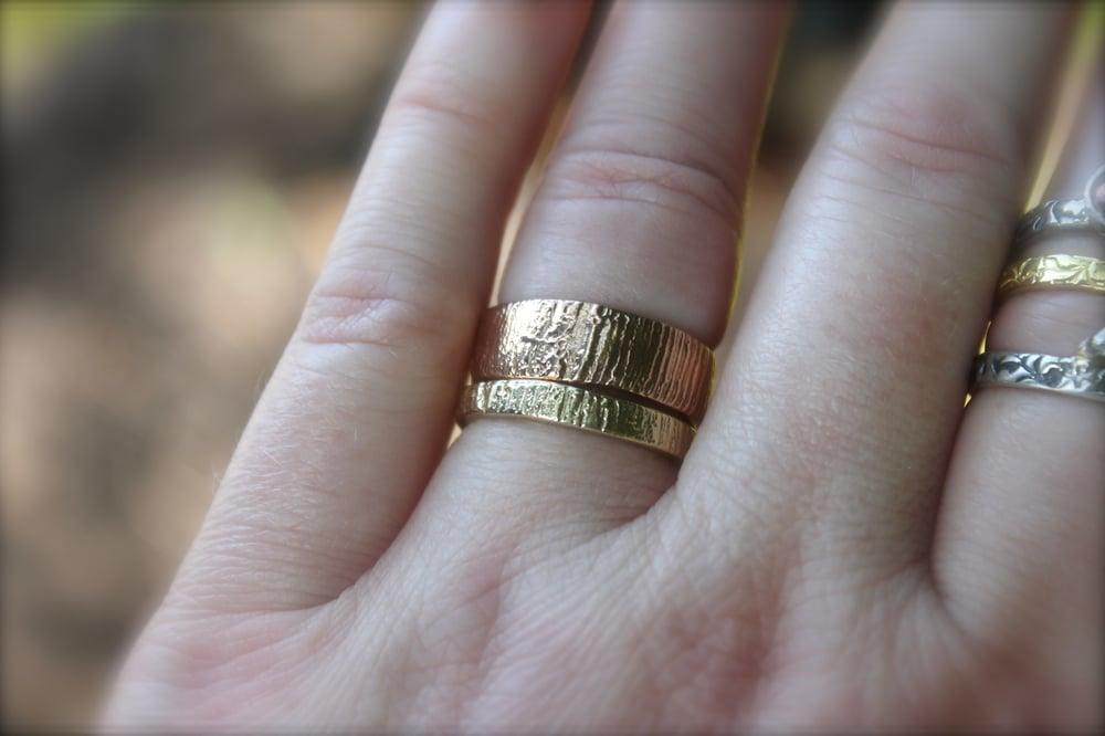 Image of Eternity Was rose gold wedding band