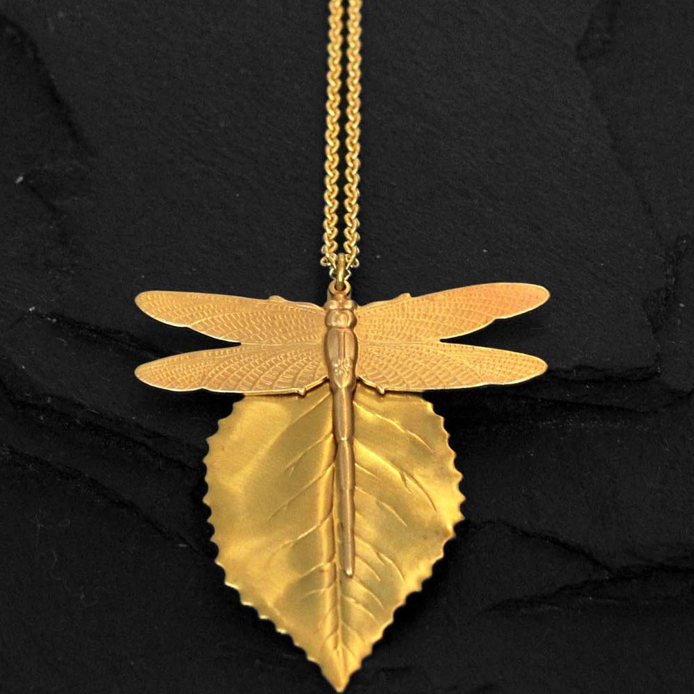 Image of Combo necklace in brass
