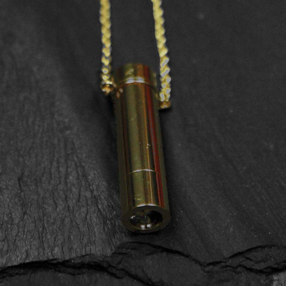 Image of Kaleidoscope necklace in brass