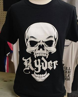 Image of Ryder Skull T-Shirt