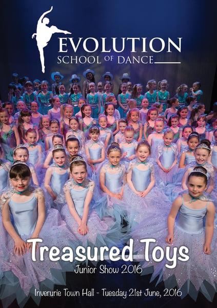 Image of Treasured Toys - Evolution School of Dance Junior Show 2016