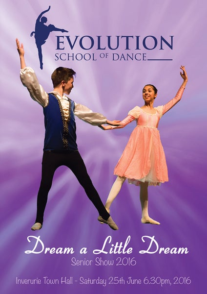Image of Dream a Little Dream - Evolution School of Dance Senior Show 2016
