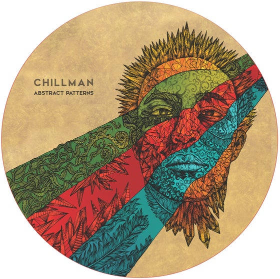 "Image of Chillman - Abstract Patterns LP 12"" picture disc vinyl"
