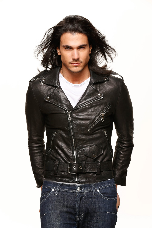 Image of Sustainable Mens Leather Jacket