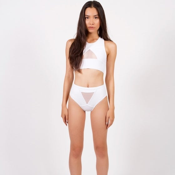 Image of DEVYN SUIT S/S 15 - WHITE