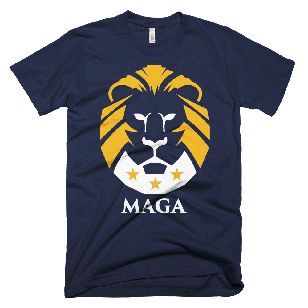 5f36f5a2 Trump LION T Shirt -- MAKE AMERICA GREAT AGAIN ---. The beginning of ...