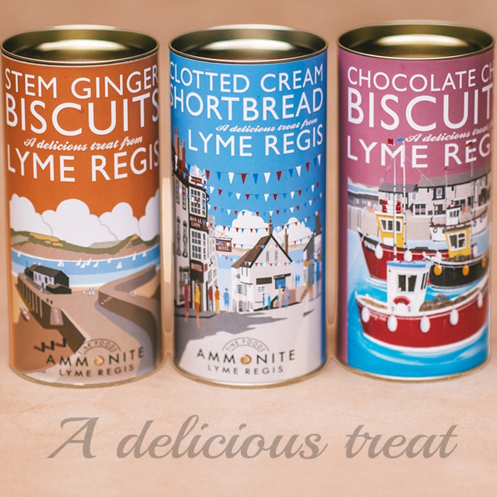 Image of Ammonite Biscuit Tubes