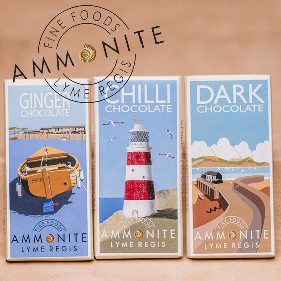 Image of Ammonite Chocolate Bars