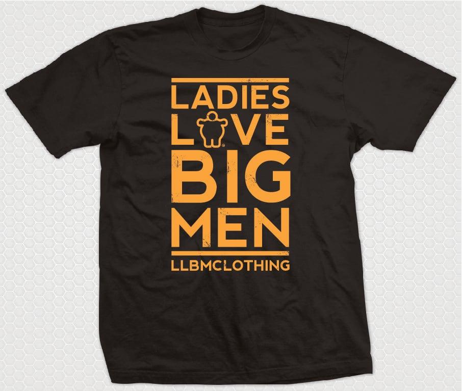 Image of LADIES LOVE BIG MEN ORANGE