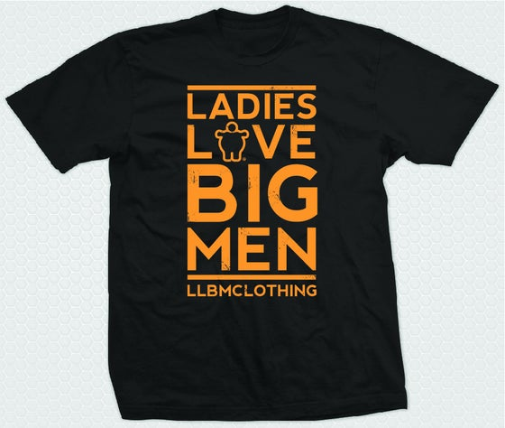 Image of LADIES LOVE BIG MEN ORANGE