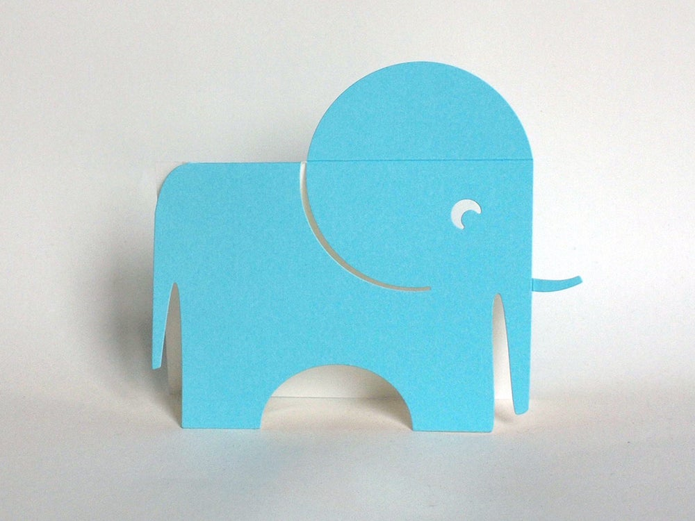 Image of 2 x The Blue Elephant Cards