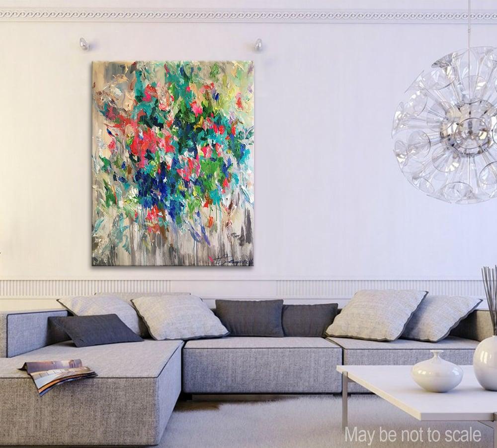 Image of Flores hiems - 120x90cm