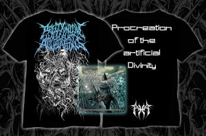 "Image of Precognitive Holocaust Annotations – ""Procreation of..."" – package deal t-shirt+cd"