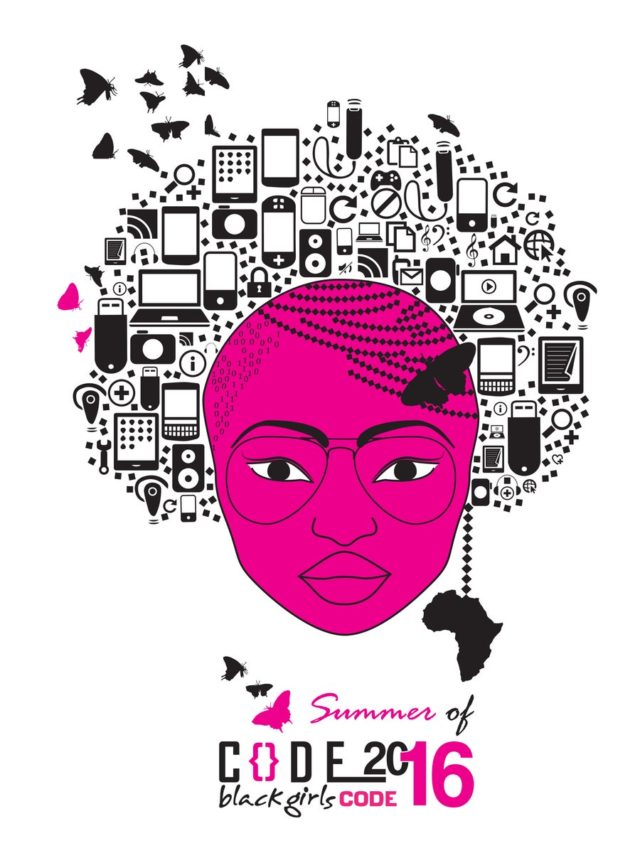 Image of Summer of Code 2016 Poster (White or Black)