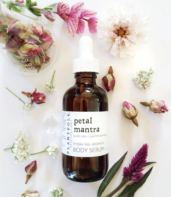 Image of petal mantra {wild rose + jasmine sambac} bath & body serum