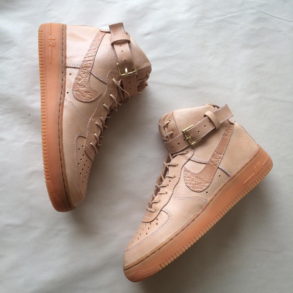 Air Force 1 High in Vegetable-Tanned