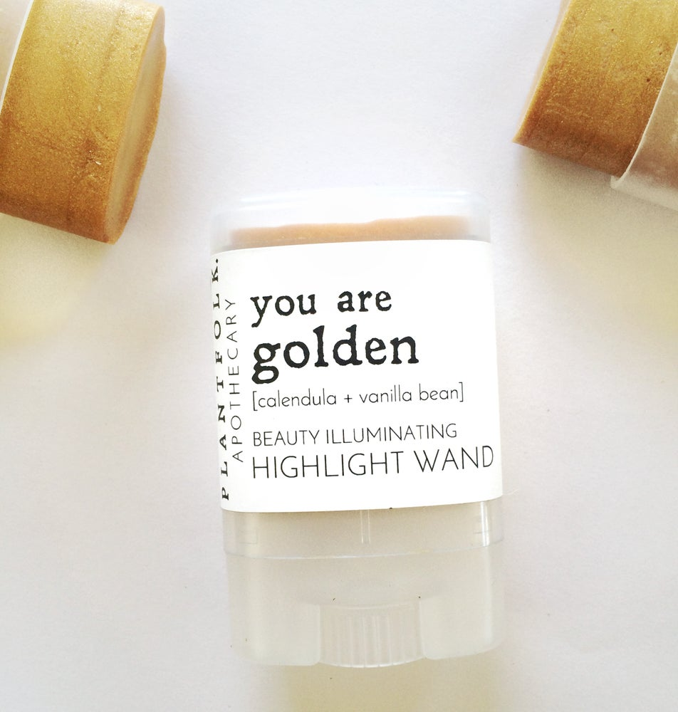 Image of You are Golden {calendula + vanilla bean} highlight wand