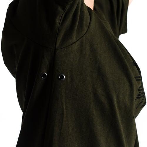 Image of 'Metal 02' Tshirt (Army Green)