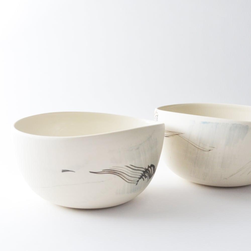 Image of eggshell altered bowl