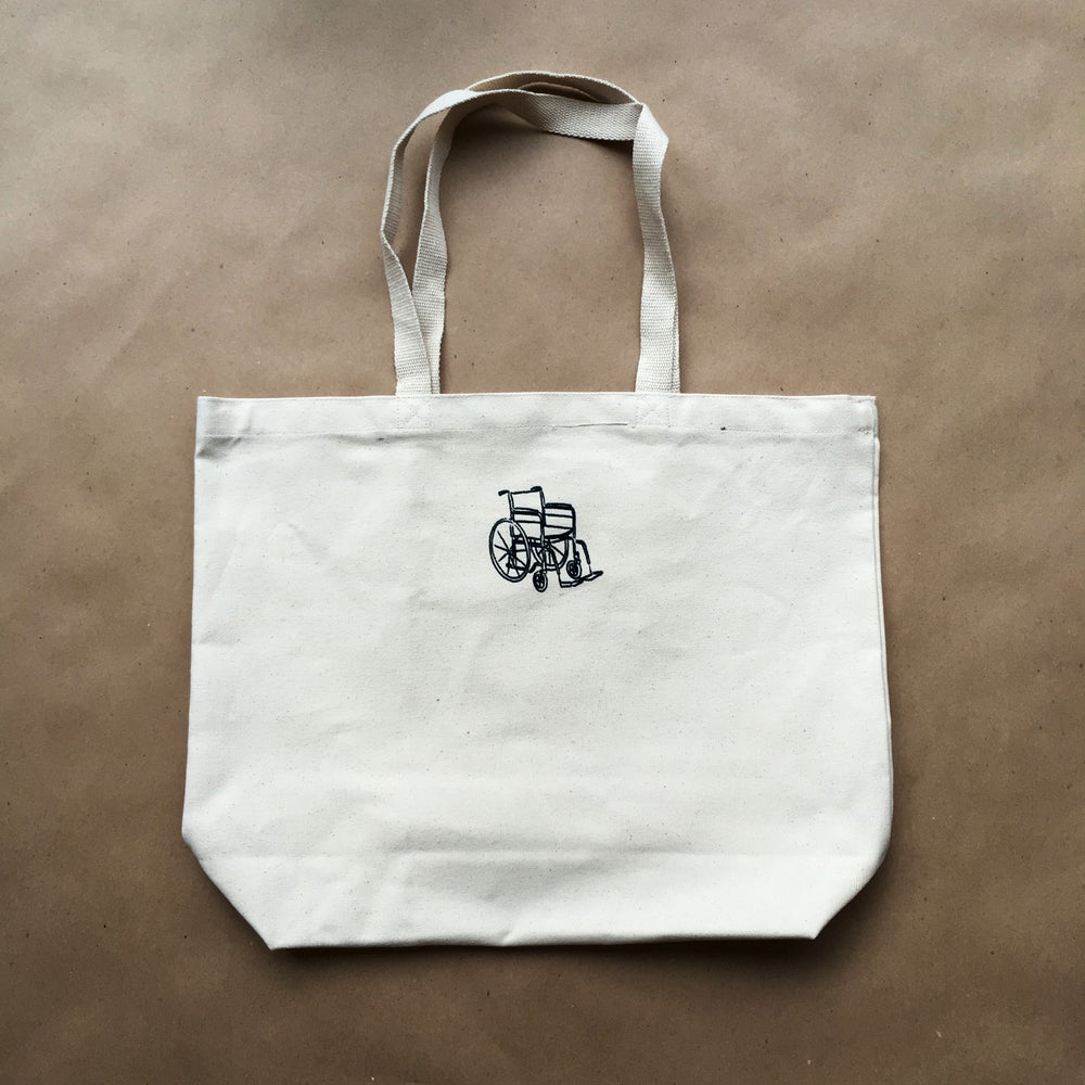 Image of wheelchair tote