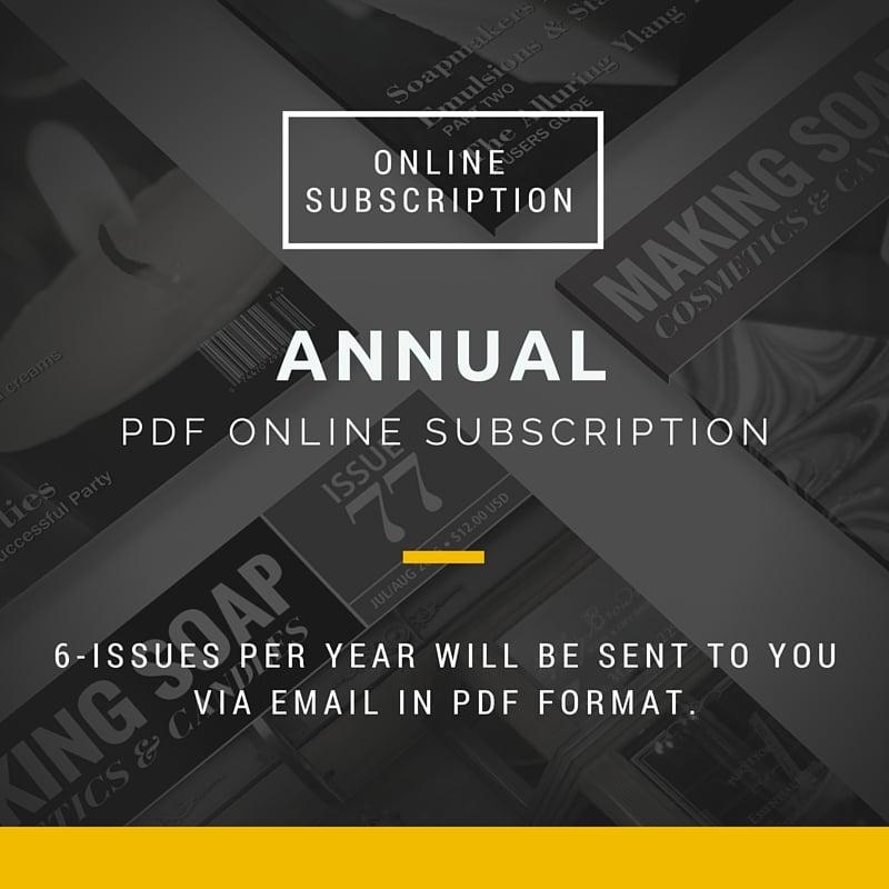 making soap cosmetics candles magazine annual pdf digital