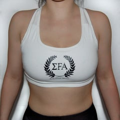 Aphrodite - Sportsbra White - Elite Fitness Apparel