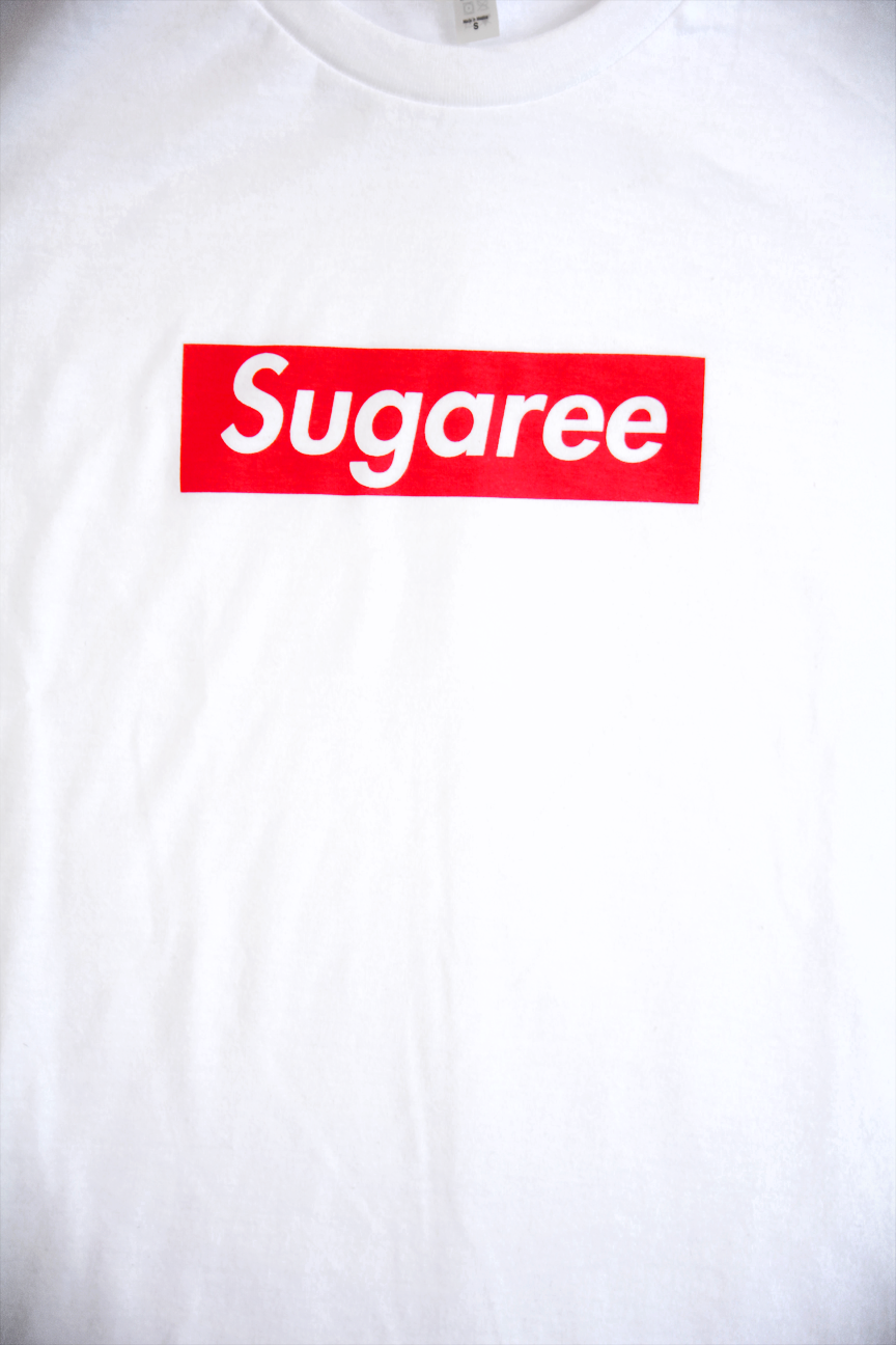 "Image of ""Sugaree"" • T-Shirt • White"