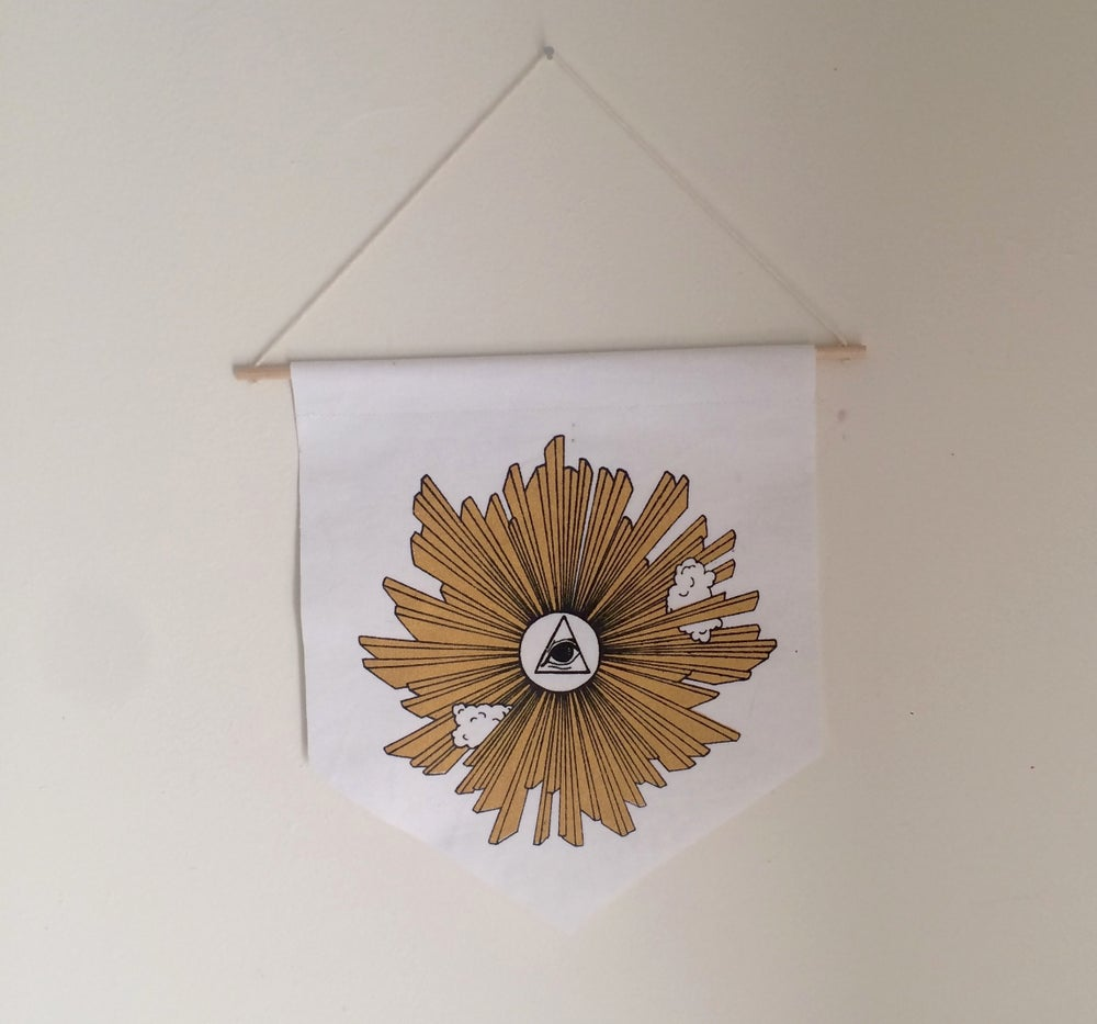 Image of EYE OF PROVIDENCE WALL BANNER