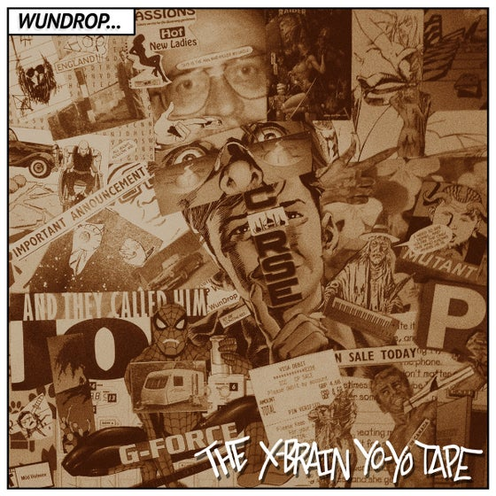 Image of Wundrop - The X-Brain Yo-Yo Tape CD