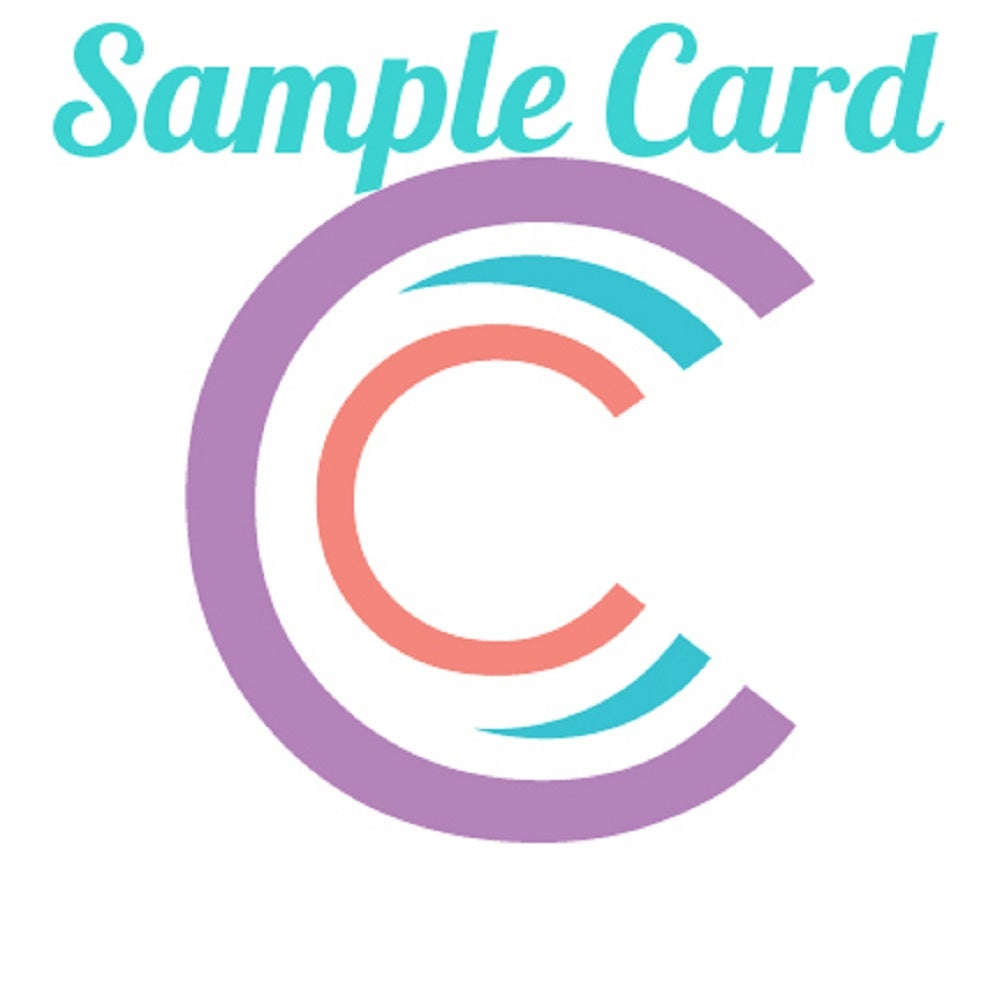 Image of Three C's Sample Card