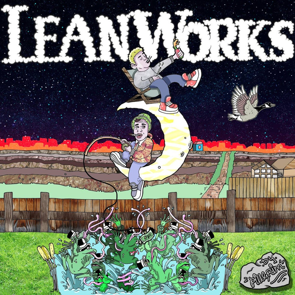 Image of Harvs & KLB - Leanworks CD