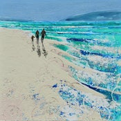 Image of Blue skies and beach days, Crantock